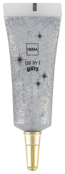 facial gloss all over glitter silver - 11210058 - hema