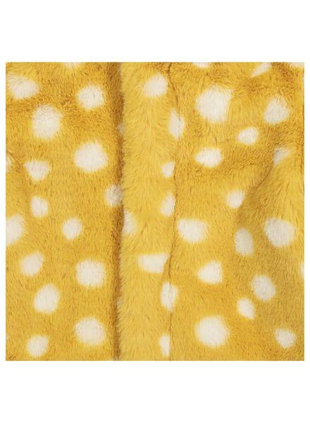 Baby-Jacke – Webpelz gelb gelb - 1000014302 - HEMA