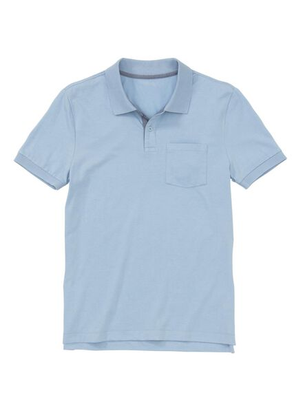 men's polo shirt blue blue - 1000005760 - hema