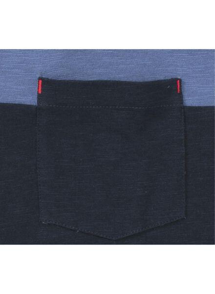 men's T-shirt dark blue dark blue - 1000006105 - hema