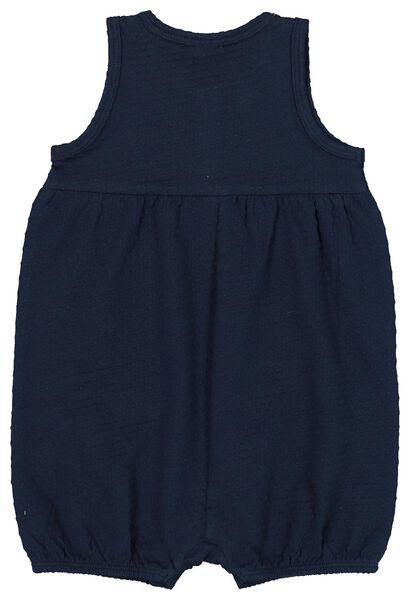 baby jumpsuit dark blue dark blue - 1000019797 - hema