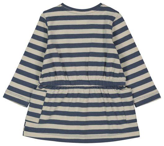 Baby-Kleid, Streifen eierschalenfarben 74 - 33008343 - HEMA