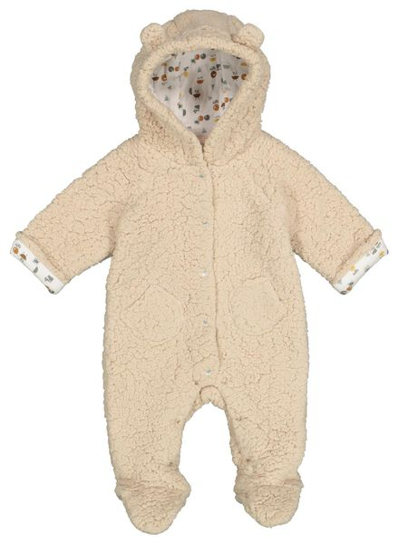 newborn jumpsuit geel geel - 1000016819 - HEMA