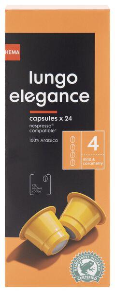 24er-Pack Kaffeekapseln Lungo Elegance - 17180001 - HEMA