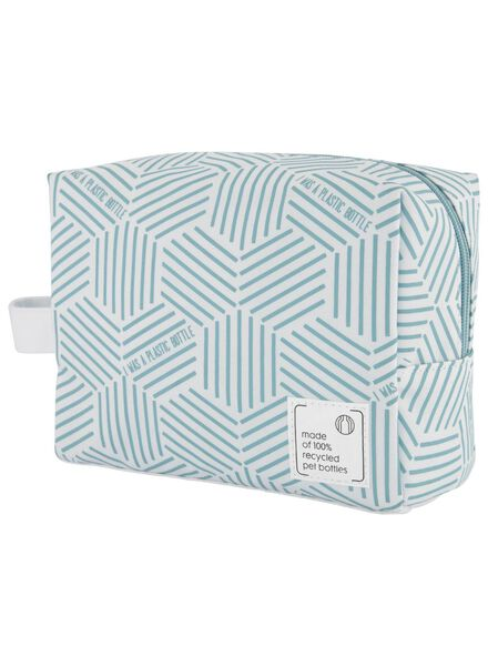 toiletry bag - 9 x 21 x 16 - recycled - 11890406 - hema