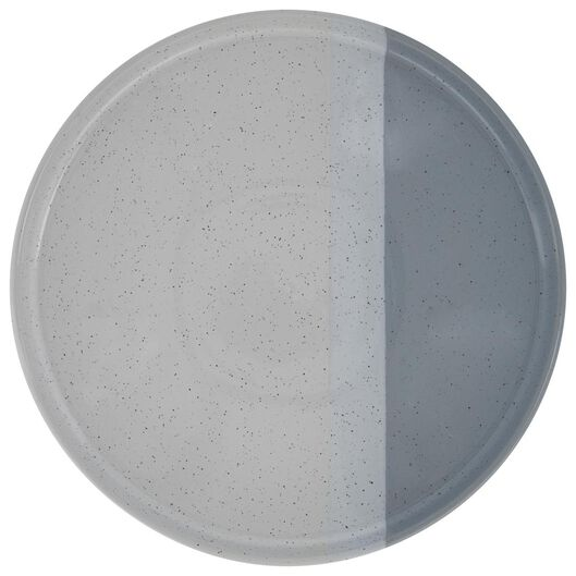 grande assiette - 26 cm - Cordoba - bleu - 9602121 - HEMA