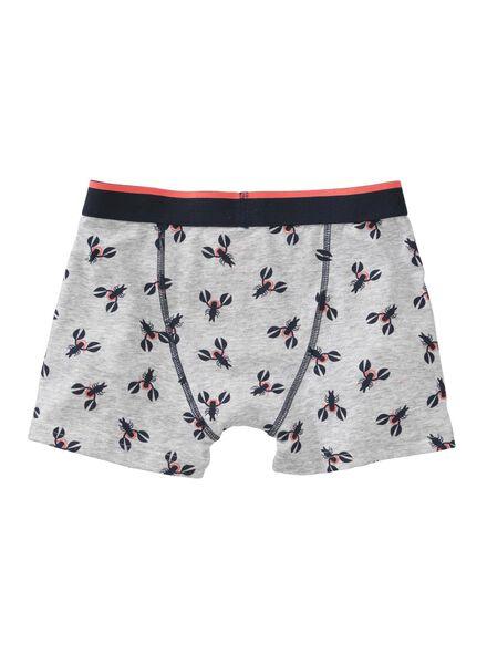 children's boxers grey melange grey melange - 1000007308 - hema