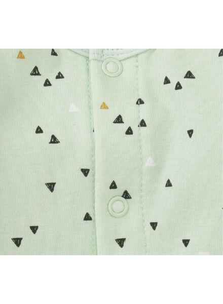 Baby-Jumpsuit, Bambus mintgrün - 1000012116 - HEMA