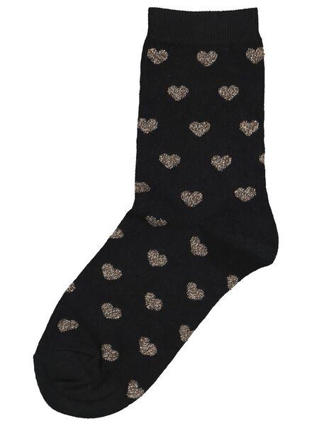 chaussettes femme noir noir - 1000016544 - HEMA