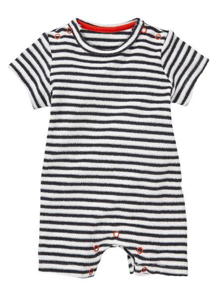 HEMA Baby Jumpsuit Eierschalenfarben