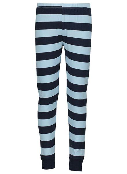 pyjama enfant en bambou bleu bleu - 1000015292 - HEMA