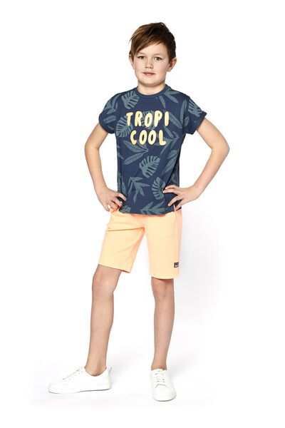 children's T-shirt blue blue - 1000018572 - hema