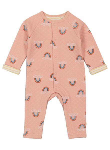newborn jumpsuit salmon pink salmon pink - 1000017343 - hema
