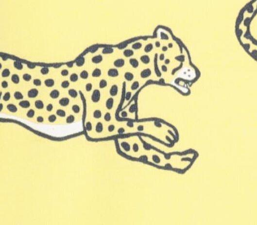 2-pack children's T-shirts yellow yellow - 1000018583 - hema