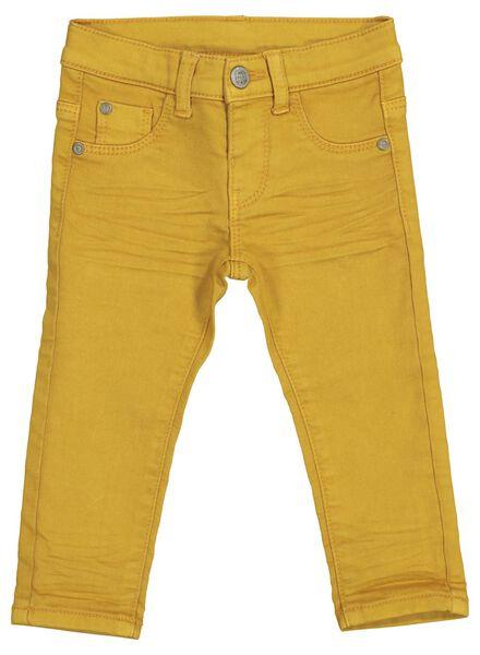 baby jogdenim geel geel - 1000014371 - HEMA