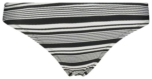 slip de bikini femme noir/blanc noir/blanc - 1000017895 - HEMA