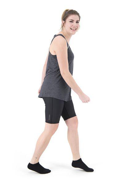 women's sports singlet loose fit grey melange grey melange - 1000018824 - hema