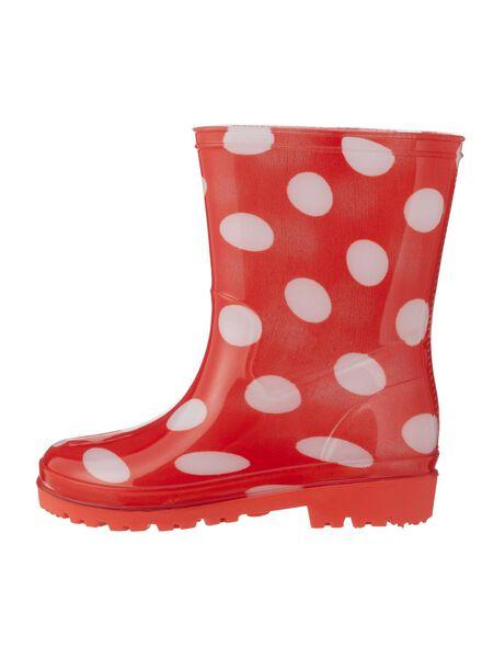 rain boots red red - 1000006237 - hema