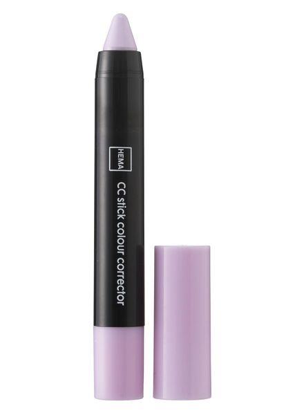 colour corrector chubby stick lilas - 11293127 - HEMA