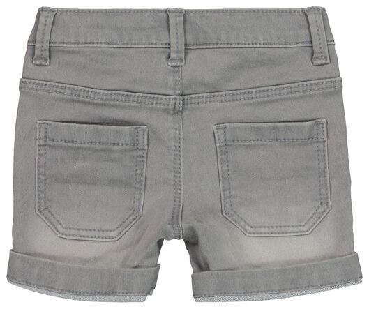 short jog denim bébé gris gris - 1000019205 - HEMA