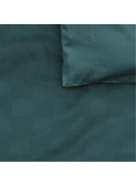 housse de couette-hôtel coton satin-140x200cm-vert pois - 5710047 - HEMA