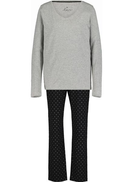 women's pyjamas black black - 1000017252 - hema