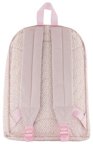 sac à dos école fleurs rose - 14590211 - HEMA