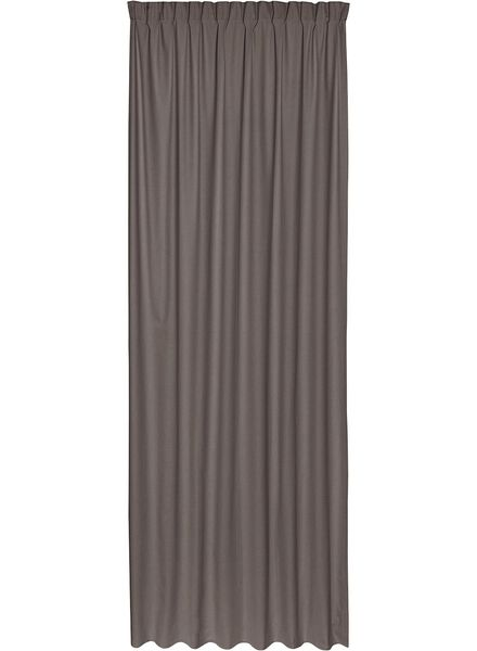 ready-to-use curtain - blackout - 7632099 - hema