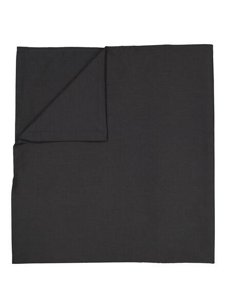 drap - 200 x 255 - coton doux - gris foncé - 5100026 - HEMA