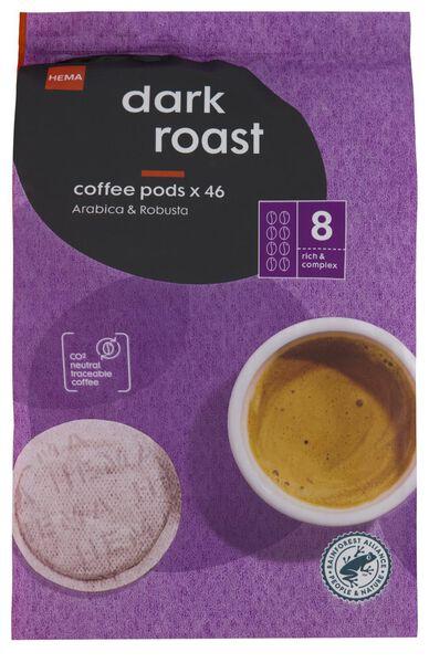 46 coffee pads dark roast - 17150002 - hema