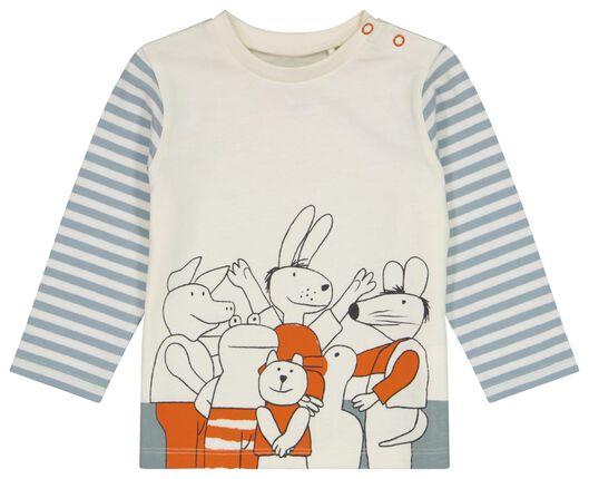 Baby-Pyjama, Baumwolle, Frosch weiß weiß - 1000025525 - HEMA