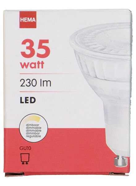 LED light bulb 35W - 230 lm - spot - matt - 20020049 - hema