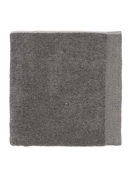 serviette de bain - bambou gris foncé gris foncé - 1000015123 - HEMA