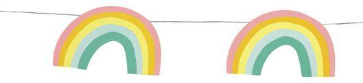 guirlande 250 cm - arc-en-ciel - 14210145 - HEMA