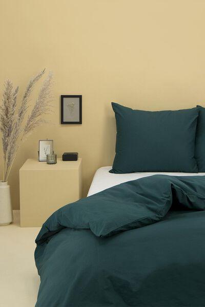 Bettwäsche Soft Cotton, 140 x 200 cm dunkelgrün 140 x 200 - 5750052 - HEMA