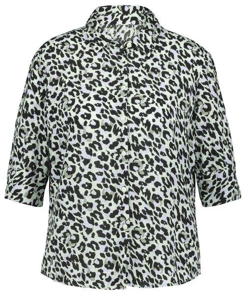 women's blouse light blue light blue - 1000022979 - hema