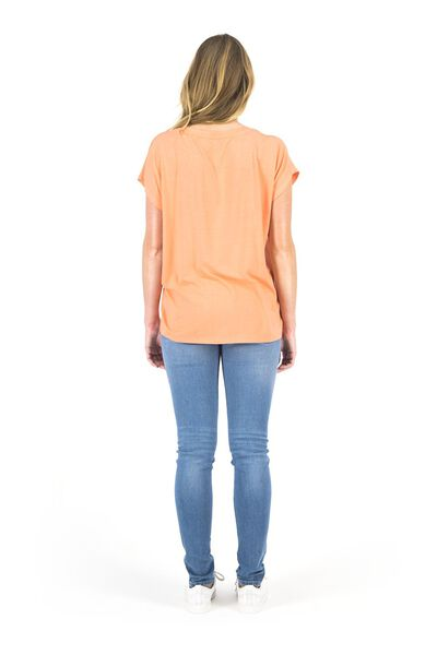 women's T-shirt coral pink coral pink - 1000018445 - hema