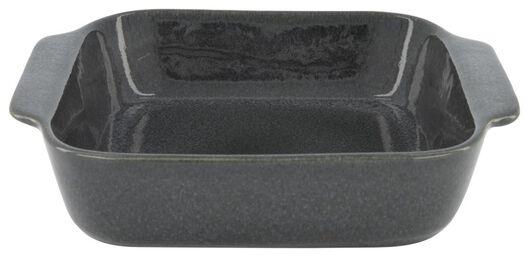 HEMA Auflaufform, 23 X 23 X 6.5 Cm, Reaktive Glasur, Grau