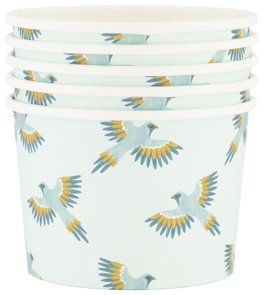 5 pots en carton 450 ml - high tea - 14280114 - HEMA