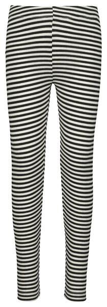 children's leggings white/black white/black - 1000017843 - hema