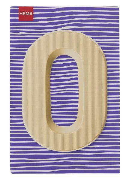 white chocolate letter O - 10037013 - hema