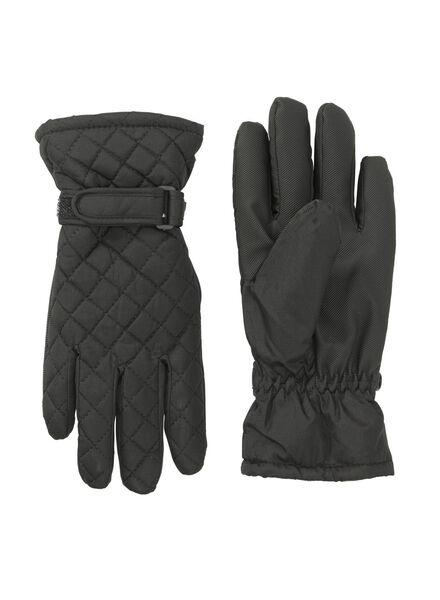 dameshandschoenen zwart zwart - 1000010878 - HEMA