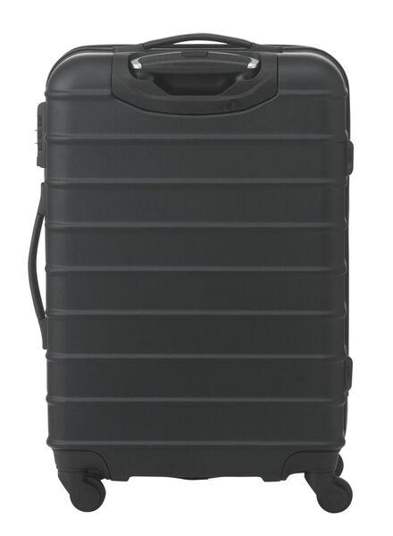 Koffer – 67 x 44 x 25 cm – schwarz gestreift 67 x 44 x 25 schwarz - 18670001 - HEMA
