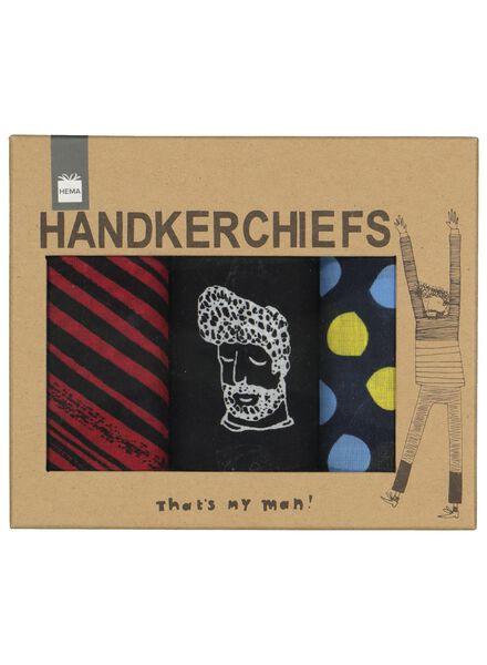 3 handkerchiefs - 60500514 - hema