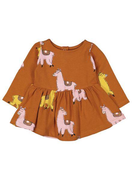 Babykleiderroecke - HEMA Baby Kleid Braun - Onlineshop HEMA