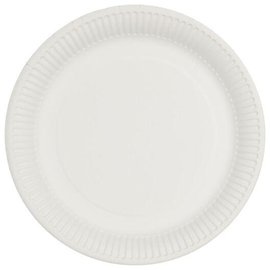 borden karton Ø22.6 cm 20 stuks - 14200488 - HEMA