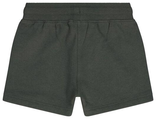 Baby-Sweatshorts dunkelgrün dunkelgrün - 1000023374 - HEMA