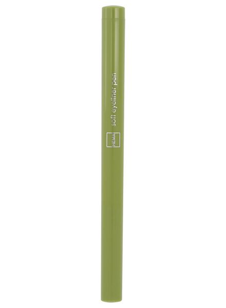 soft eyeliner waterproof 82 army green - 11210182 - hema