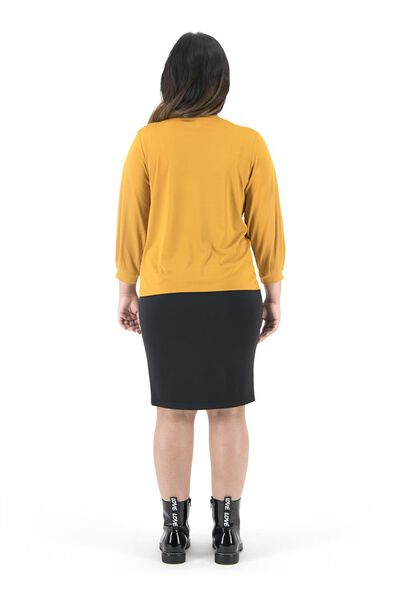 women's top yellow ochre yellow ochre - 1000019291 - hema