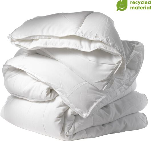 Image of HEMA 4 Season Duvet RPET White (white)